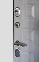 Сейф-двери Сити-1 дуб беленый