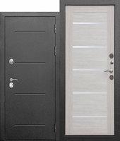 """Входная металлическая дверь Цитадель """"Isoterma"""" 11 см Антик серебро"""