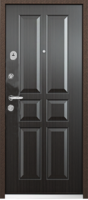 Стальная дверь ДПН 60-07/венге