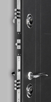 "Сейф-Дверь  ""СИТИ с зеркалом"" (Венге)"