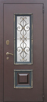 Сейф дверь Венеция Венге/Беленый Дуб