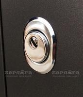 Сейф-дверь Тринити Милана Лиственница Белый лакобель