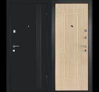 Сейф-Дверь Лайн в цвете беленый дуб