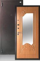 Сейф-дверь Ольга Миланский орех