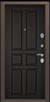 Дверь металлическая  Delta-M 10 D12 Венге поперечный