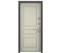Сальная Дверь Snegir 55 RAl 8019 / NC-2 Белый перламутр