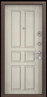 Дверь металлическая  Delta-M 10 D12 Белый перламутр