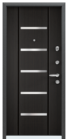 Дверь металлическая  Super Omega 10 VDM-2N Венге RS-1