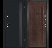 Сейф-Дверь  Лайн в цвете Венге