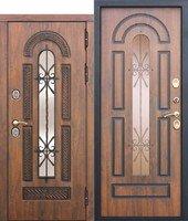 Входная морозостойкая дверь c ТЕРМОРАЗРЫВОМ 13 см VITRA Винорит Патина